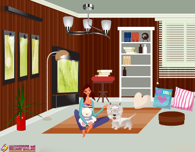 living room decorating games on Living Room Decor   Album Image Detail   Free Online Games For Girls