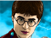 Harry Potter Coloring: In the coloring page, you will have a chance to express your painting skill b coloring the picture whose main character is  the mythical Harry Potter. You'll be able to paint scenes from the movie,