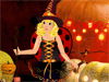Cute Halloween Baby Dress Up: Halloween is coming and this cute baby is preparing the nice Halloween costumes to go out with her friends on Halloween. She will become a sweet witch or a lovely angle? Let's help her select the costumes and enjoy Halloween with her!!!