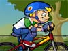 Outstanding Biker: In this sporty game, you will have chance to choose  from two excellent bikers. And then try to ride on difficult mountain bike race tracks. Remember to collect the stars on the road.