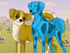 Tessa's Pet Makeover: Tessa loves pets so much that she always spends a lot of time making over them everyday and takes them for a walk in the park. Do you like pets? Help her makeover her dogs.