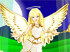 Play dress up games with Marietta. Beautiful Marietta is an angel who lives up in the sky in a peaceful magic world. She is a good angel who brings peace and harmony on the Earth and gives good children sweet dreams at night. Play with beautiful Marietta by changing her angelic look the way you want. Dress her up with the dress you like best, choose a pair of wings for her, the shoes you want and some pretty accessories. You can also change the magic background! Enjoy!