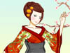 Japan Kimono: The kimono is a Japanese traditional garment worn by women, men and children. It is considered as national symbol of Japan. Play this game, dressing up this Japanese girl will help you understand more about Japanese culture.