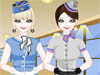 A Lovely Stewardess: I see Stewardess an interesting career. You have chance to come to different areas all over the world and bring happiness for customers on every travelling. If you love to be a stewardess in the future, this is an incredible career fashion game in which you'll be able to try on different air hostess uniforms. Dress this adorable professional in the world of civil aviation so she can enjoy her job.
