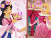 Mulan and Aurora Similarities