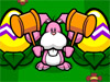 Funny Easter Game: Enjoy your Easter day with a funny game with the bunny. In this game, the bunny have the mission of protect the eggs from the naughty monkeys. Beat them if they come and intent to steal your eggs. So funny!!