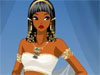 Cleopatra - she is one of the most well-known Egyptian pharaoh. She is not only well-known by her talents but also her fashion and make up style. No matter which dress style Cleopatra chose, the state costume would include a necklace, wigs, and crowns. Let she how a Cleopatra style would be here...