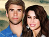 Miley with her Lover: WHO IS MILEY CYRUS DATING?? Is that what you do want to know about this famous teen star? Is anyone good enough for Miley?  I'll help you find the answer. Miley Cyrus has opened up about her alleged new lover/actor Liam Hemsworth. HER and liam are the perfect couple, do you think so?