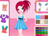 Colorful Wardrobe :As a color matching expert,please help this girl re-design her clothes.You can dress her up first.Then choose your favorite colors and patterns to make her clothes look more beautiful! Have fun!