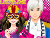 Couple in Masquerade