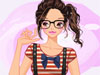 Young College Girl: This girl always makes her friends and others feel a sense of freshness and joyfulness. To keep herself happy and fresh, she always appear in new look with cute and young fashion style.