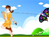 Flying Kite Girls' Dresses: With the summer and the nice weather all we think about is going out and enjoy every second of the time the sun is up. There are so many fun activities you can do outdoors but this girl loves her kites. Since she was a little girl she is going on the fields and launch her kites. Dress her up playing this cute girls dress up game and choose the cutest summer outfit for her. Don't forget about hairstyles and accessories and have lots of fun!
