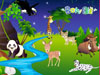 Fantastic Animal World: You are welcome to the fantastic Animal World with many types of Animals and decor the world as you like with different scene and decor items such as trees, waterfall, river, and much more. You can change its size and direction. So funny and interesting! And ... Love Animals so much!