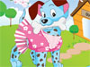 Puppy Funny Dress up: We are going to makeover a cute puppy with nice costumes and accessories. You' ll see, it's so fun to play puppies dress up games. Make another look for this puppy with nice costumes, hat, fur colors and even his tattoo :D