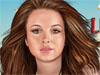 Lindsay Lohan Make up: Make up Lindsay Lohan simply by changing the hair color, rouges, eyeshades and even more. You now have chance to make a famous Hollywood star's new look as you like. Great chance!
