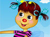 Cute bee: This cute bee wants to have some fun today and enjoy a nice and relaxing afternoon after a long and hard working day. She loves to sing and play her guitar so she will go from flower to flower spreading her joy. Dress her up in a cute outfit, choose a guitar and a nice hairstyle and have fun!
