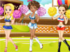 High School Cheerleader Dress Up