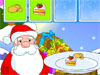 Cook For Santa: Santa Claus has already started packing the gifts for the nice children and among the many wonderful presents that he has prepared, he wants to add some delicious, nicely decorated cookies and sweets, baked by his thoughtful wife. Help Santa pick the right pastries, by clicking them, and they will surely bring a big smile on a lucky child's face!