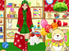 Shopping For Santa Dress Up: Christmas Day is coming, and Carol decided to help Santa with his presents. Help her find what she's looking for but first help her look great. She needs you to design for her the perfect outfit for this job. Enjoy!