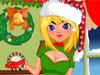 Christmas Day Dress Up Game: It's Christmas day, the tree is all decorated and so is the house. Everything awaits for the guests and of course Santa Claus. This girl is going to have a little family party at her place and she would love to wear all Christmas themed outfits. Help her find the perfect ones for such a big holiday. Merry Christmas to all!