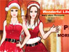 Christmas Eve Dress Up Game: It's Christmas eve. Two lovely girls are eager to long for this Noel. They are preparing nice outfits for coming Christmas Eve. Please help to dress them up. Santa must love the cute girls. Have fun!
