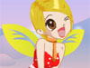 Christmas Angel Elf Dress Up: Christmas eve comes and this angel Elf will bring a present for you. She'll fly over each house and give a present to each person. She works for Santa Claus. Help to Dress her up in the best elf outfit and make her look like a super style elf!
