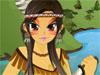 Aboriginal Girl Dress up