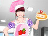 Chef Fashion: This lovely girl is working in a restaurant kitchen as a talented chef . Besides this, she is also crazy about fashion and she always loves to be perfect. Dress up her with latest chef fashion outfits. Don't forget to put chic accessories onto her and have fun.