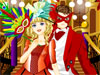 Masquerade Ball Dress up: A masquerade ball is an event which the participants attend in costume wearing a mask. This beautiful teen girl are going to attend this coming masquerade ball. She's thinking about how to choose best dresses and masks, and also, which boys she'll go with...