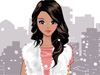 Fur Style: This girl is crazy about <a href='http://www.dressupgirl.net/category/Fashion-Games/1.html' target='_blank'>fashion</a> and she loves to wear clothes made of synthetic fur in wintertime. A fur vest over a simple long sleeve t-shirt for an ultra-chic yet simple to make her so sexy and feminine in the cold day with white snowflakes.Now its time to check out her fancy wardrobe and pick up the outfit you like best for her trendy.