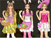 Bunny girl: Emily loves <a href='http://www.dressupgirl.net/dressup/2699/Easter-Dress-Up.html' target='_blank'>Easter</a> festival so much. Therefore, she decides to wear a cute bunny costume in pink, white and purple colors. Check her trendy wardrobe, choose super cute outfits and make her look like a sweet <a href='http://www.dressupgirl.net/dressup/1848/Easter-Bunny-Girl.html' target='_blank'>bunny </a> girl. Don't forget to choose  lovely bunny ears, a basket with colored egg, cool handbag and perfect hairstyle. Have fun with this game.