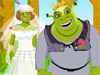 Fiona and Shrek Wedding: You must have seen and very interested in cartoon film Shrek. Fiona and Shrek is a fatrytail couple. They are deserved to be happy together forever.  You can feel as beautiful as Princess Fiona did when marrying her valiant knight...Shrek! Let's help them a hand before their wedding ceremony and attend the wedding with them.
