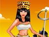 <a href='http://www.dressupgirl.net/index.php?q=Cleopatra&x=0&y=0&params=search' target='_blank'>Cleopatra</a>  Dress Up: Cleopatra is one of the most famous queens of all times in ancient Egypt.  She is very intelligent and has a great style. Now, you are her stylist. Check out her wardrobe, choose the most beautiful royal outfit, stunning accessories and have fun.