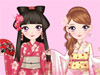 <a href='http://www.dressupgirl.net/index.php?q=Japanese&x=0&y=0&params=search' target='_blank'>Kimono</a> Girl: She is a Japanese girl and she loves wearing so much. Help her dress up with a beautiful kimono. Then complete her look with a cute Japanese traditional sandal and a perfect hairstyle. Have fun