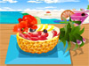 Yummy Fruit <a href='http://www.dressupgirl.net/dressup/2770/Strawberry-Orange-Salad-Recipe.html' target='_blank'>Salad</a>: Summer has come and it's great to enjoy yummy fruit salad in these days. Now, you can choose fruits you like and decorate it. Now, let's start and have fun.