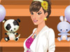 Stylist Pregnant: She is <a href='http://www.dressupgirl.net/dressup/2978/Pregnant-Dress-Up.html' target='_blank'>pregnant</a> but she always wants to look fashionable. Help her dress up and have fun.