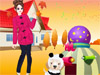 Miley And Me: Girls, I have a really cute dog. It is called Miley. Now help me and my lovely dog dress up. We will have a great time today. Have fun.