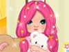 Lovely <a href='http://www.dressupgirl.net/category/Doll-Maker/1.html' target='_blank'>Doll</a>: She is a beautiful doll with a great style. Now can you believe it. You can dress her up, change her clothes, her hairstyles and her toys. Sound fun right? Let's start and enjoy yourself.
