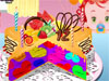 Rainbow <a href='http://www.dressupgirl.net/dressup/2959/Tinkerbell-Cupcakes.html' target='_blank'>Cake</a> : Making a rainbow cake for your friend is so wonderful. Now you have done this and start to decorate it. Let's start and have fun. Enjoy.