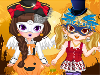 Go <a href='http://www.dressupgirl.net/dressup/3217/Halloween-Wedding.html' target='_blank'>Halloween</a> : Girls, it's really a lovely day and my best friend and I, we will participate at a Halloween party. Help us dress up and enjoy. Have fun.