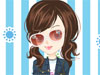 Cute Blue Girl