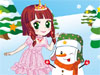 Princess And Snowman