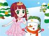 Princess And Snowman