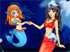 Princess And Queen Mermaid