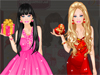 Romantic <a href='http://www.dressupgirl.net/category/Barbie-Dress-up/1.html' target='_blank'>Barbie</a> : Barbie is a romantic girl and today you will help her dress up with romantic clothes.