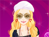 She is a <a href='http://www.dressupgirl.net/category/Girls-Dressup/1.html' target='_blank'>rock star </a> and today she goes out alone. Help her dress up. Maybe you can change her style because she doesn't want to be followed by paparazzi. Have fun
