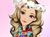 Flower Accessories: Girls, flowers are so lovely and this girl loves this so much. And do you know that she is crazy about flower accessories. It makes her become a feminine girl. Now, help her dress up and have fun.