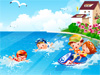 <a href='http://www.dressupgirl.net/index.php?q=beach&x=0&y=0&params=search' target='_blank'>Beach</a>  Decor Game: Girls. this twins couple has a great vacation in a lovely beach. As you know the beach must be look fabulous before they start playing together their and enjoy the whole day. So check out the wide variety of collectibles for decorating the beach and use your decoration skills and designing ideas to make the beach perfect. Have fun at the beach.