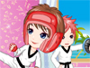 Karate Kid: Girls, this super cute girl loves karate so much and she is training so hard in order to participate at a famous karate competition. Now help her dress up.