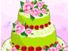 Rose Wedding Cakes